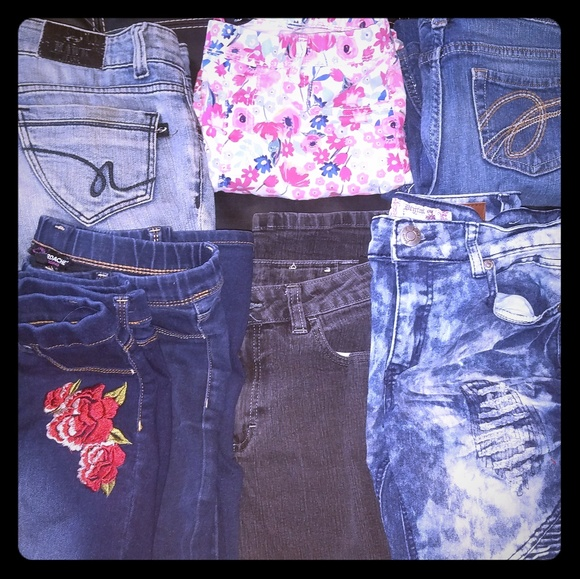 Other - Girls jeans(7 pairs).... BUNDLE